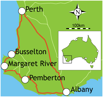 Dunsborough Map
