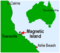 Magnetic Island Schoolies map