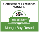 Mango Bay Resort Fiji Trip Advisor Certificate of Excellence