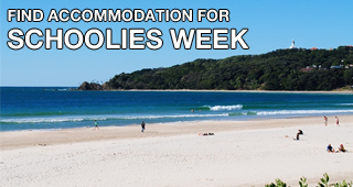 find schoolies accommodation