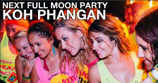Full Moon Party Koh Phangan next full moon party
